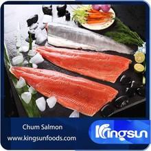 Grade A Frozen Chum Salmon Fillet /Steak/Portion
