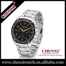 2015 CHNEXI new stainless steel watch with decorated dial , brand watch men's style 035AMS