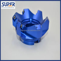 CNC indexable face milling cutter cutting tools