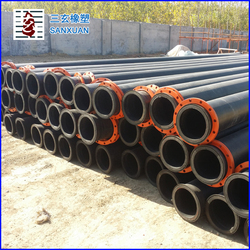 HDPE pipe 34 inch diameter 920mm thickness 38mm pressure 1.0Mpa large diameter dredger pipe flexible drain pipes