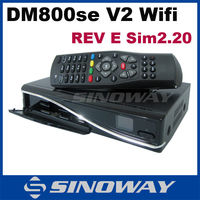 best hd digital satellite dm800 hd se v2 tv receive sim2.2 revE Enigma2 Linux Dm800se V2 new remote control dm800se v2