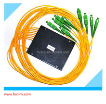 Compatible GPON EPON best price PLC Splitter 1x8 ,1x16 Fiber optic Splitter