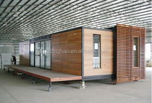 Guangzhou good quality cheap price steel structure prefabricated the prefab container house