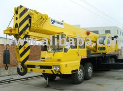 good condition used tadano mobile crane 55 ton
