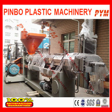 Film recycling granulating machine in plastic machinery