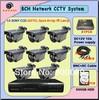 New product Electronics cctv cameras night vision sensor 8ch DVR surveillance camera kit