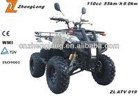 chinese diesel 4x4 quad atv