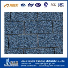 Factory Cheap Price Fiberglass Colored Asphalt Shingles for Roof