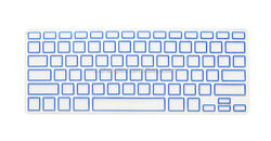dustproof and waterproof silicone keyboard cover for macbook air a1370
