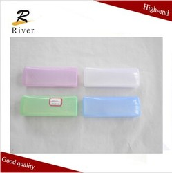 China cheap plastic transparent eyeglasses case / glasses case