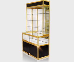 Jewelry/mobile counter display case /showcase size Customized