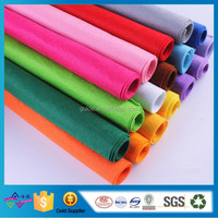 Make-to-order Color Needle Punched Polyester Nonwoven Fabirc Cloth Felt