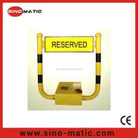 Remote control auto car parking position lock