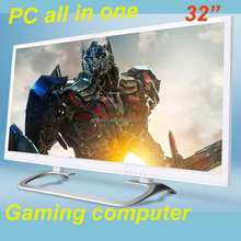 """gaming 32 inch desktop computer all in one built-in all in one pc 32"""" LED backlight monitor wholesale gaming pc"""