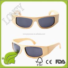 Wood Bamboo Sport Sun Glasses Polarized Lens, Natural Polar Eagle Sports Eyeglasses Eyewear Cycling