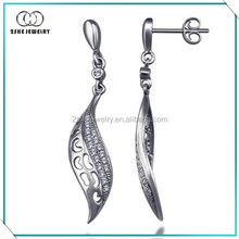 Made in china Latest silver earrings designs for girls