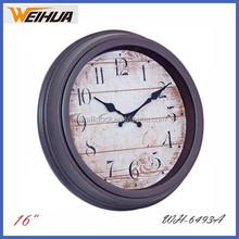16 inch analog antique grandfather clock