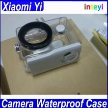 Original Xiaomi Yi Camera Waterproof Case, Xiaomi Yi 40M Diving Sports Waterproof Box, Yi Action Camera Accessories