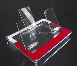 Cheap countertop acrylic mobile phones display stand