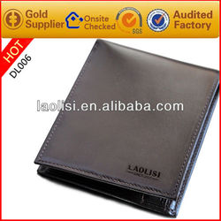 men pure leather wallet natural leather wallet
