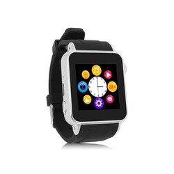 2015 latest GSM smart watch phone with touch display and memory car slot