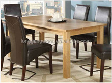 Luxury home dining table set,european classical dining table and chair,wooden hand carving dinner table(LG-D004)
