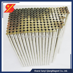 Wholesale Custom china mmm 100 mmm n52 neodymium cylinder magnet generators n50 neodymium magnet