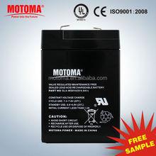 6v UPS battery 6v 4ah solar battery lead acid battery manufucturer in China