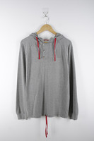 Mens Causal Cotton / Polyester Hoodie Pullover