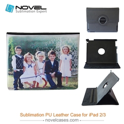 New style pu leather sublimation phone case for Ipad 2