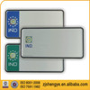 indian custom embossed reflective wholesale blank license plates