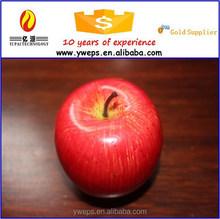 Yipai mousse fruits artificiels / plastique faux red apple pour vente