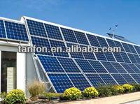 indoor solar lighting system 300w 24v solar panel solar module frame