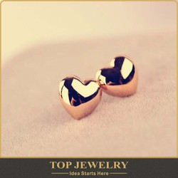 Wholesale new fashion jewelry light weight gold earring for women made of Zinc AlloyTOPER-00231