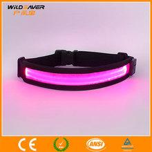 New model led flashing running waist belt original custom