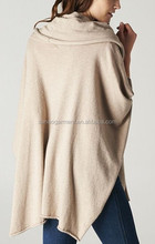 2014 New style women cashmere poncho