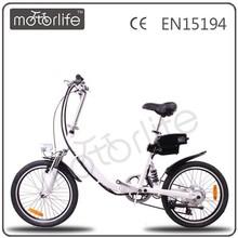MOTORLIFE/OEM brand EN15194 36v 20inch children electric bicycle