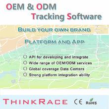 Global personal gps tracker vehicle tracking system software /gps tracking system/gps tracker by Thinkrace