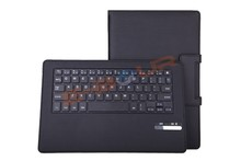 For Sony Xperia Tablet Z2 10.1inch Wireless Bluetooth ABS Keyboard Leather Case with Magnet Stand ebour011