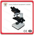 Sy-b129 microscopio de laboratorio microscopio óptico de precio