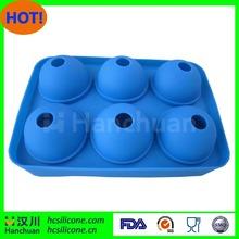 SEDEX fábrica de molde de silicona bola de hielo