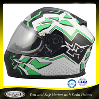 Stylish DOT Approved full face motorcycle Accessories helmet