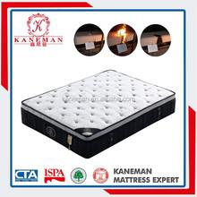 wholesale fire retardant king/queen/full size visco elastic memory foam mattress with zipper cover
