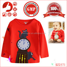 2015 cheap brand fashion t-shirt for baby boys fashion heat press machine t-shirt new brand children boy T-shirt