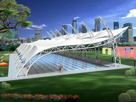 Tensile Fabric Structure For