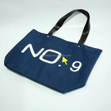 New Design Non Woven Recycled PP Zipper Tote Bag, Reusable Canvas Shopping Bag With Zipper