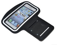 Lightweight neoprene customized Touch-screen sport armband for Mobile phone with adjustable Velcro closure
