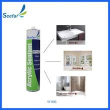 used on concrete paintable acrylic sealant