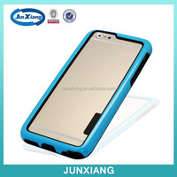 colorful PC and TPU 2in1 bumper cell phone Case for Iphone 6