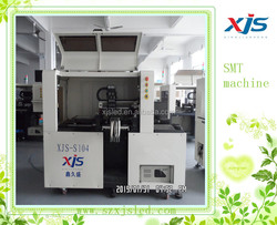 automatic smt pcb pick and place machine XJS-S104/electronic assembly line equipment
